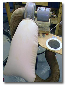 Silent dust collector plans fish carving classes for Portable dust collector motor blower