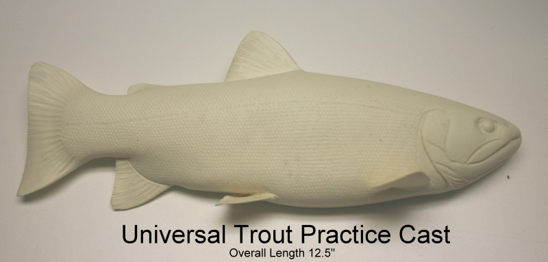 Fish carving study aids